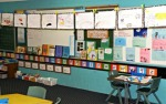 Alphabet in classroom